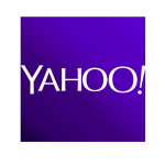 Yahoo local Icon with indigo background