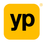 Registered yellow pages logo.